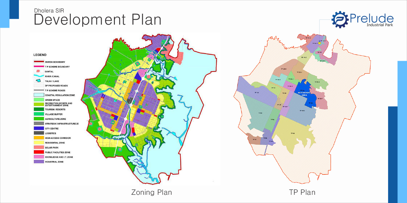 industrial plots dholera