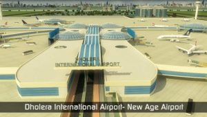 Environmental sanction of center to dholera airport project